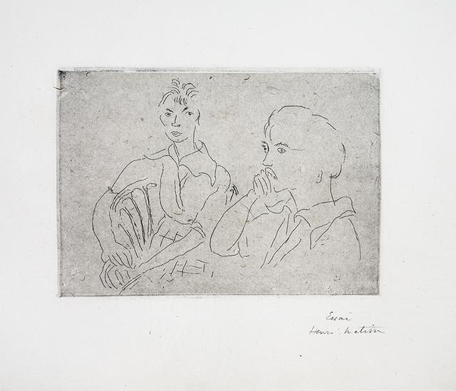 , 'Double portrait de Josette Gris,' 1915, Lyndsey Ingram