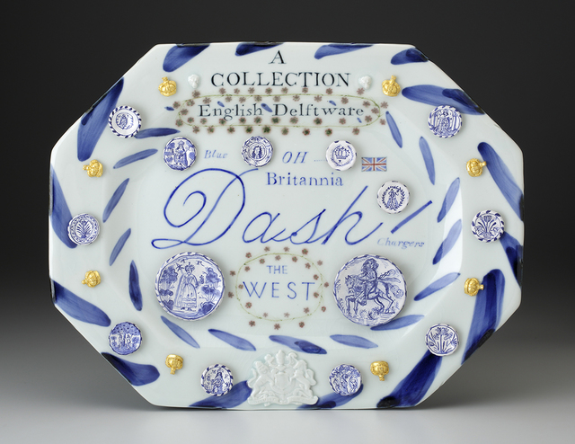 , 'English Delftware: A Collection of Blue Dash Chargers,' 2016, Ferrin Contemporary