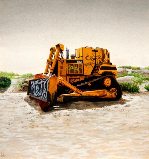 , 'Ocean Beach Plow II,' 2012, Hashimoto Contemporary