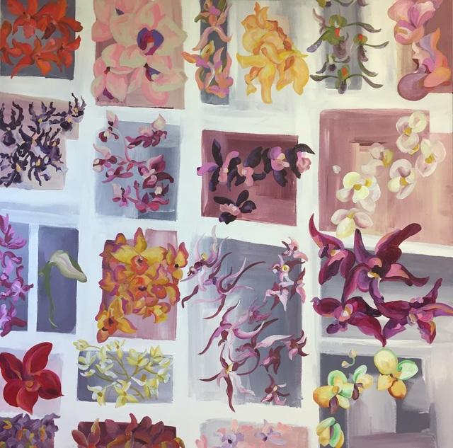 , 'Hirshhorn Orchids,' 2017, Zenith Gallery