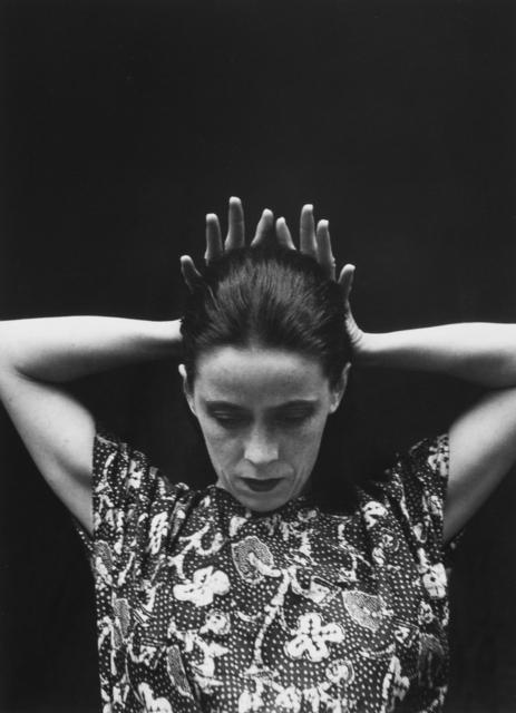 , 'Martha Graham 72, 1931,' 1981, Ryan Gallery