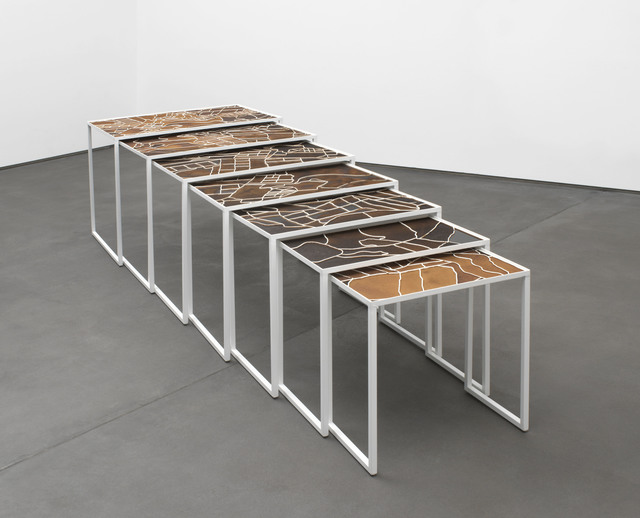 , 'Coffee table,' 2018, DITTRICH & SCHLECHTRIEM