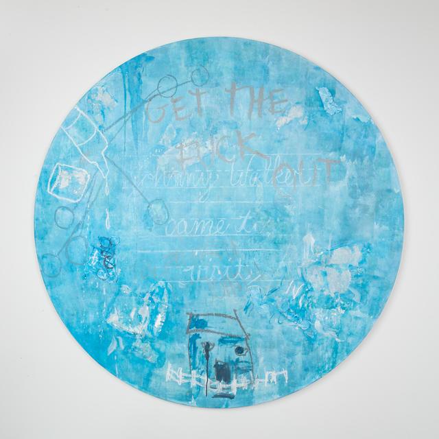 , 'Blue Gin Fizz,' 2018, Leila Heller Gallery