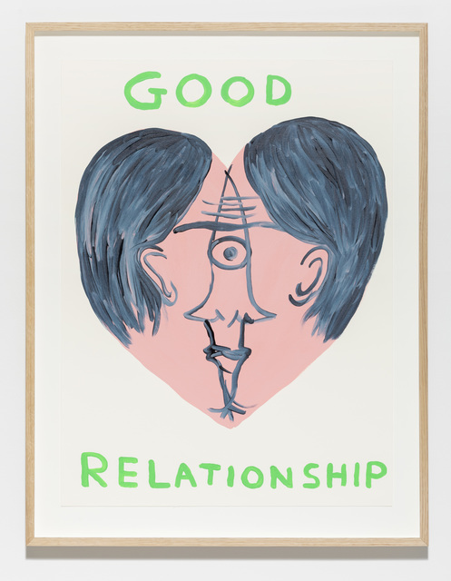 , 'Untitled (Good relationship),' 2019, Galleri Nicolai Wallner