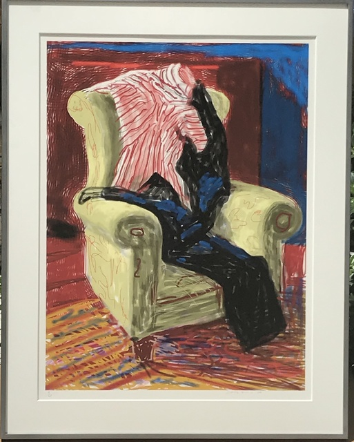 David Hockney, 'My Shirt and Trousers ', 2010, Gregg Shienbaum Fine Art