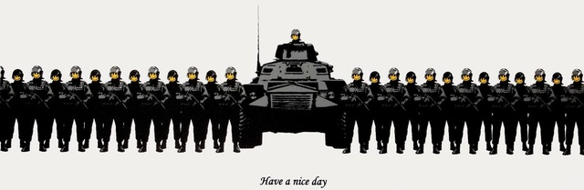 Banksy, 'Have a Nice Day (unsigned)', 2003, Reuben Colley Fine Art