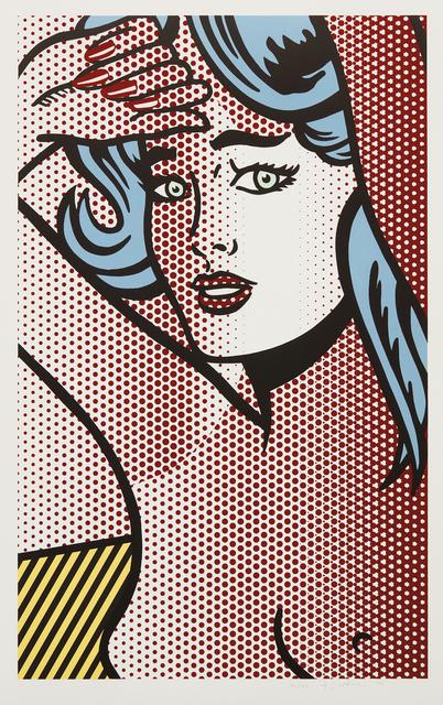 Roy Lichtenstein, 'Nude with Blue Hair, from Nudes Series', 1994, Phillips