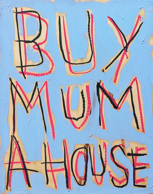 , 'Mummy's Boy Small (sky blue),' 2018, Charlie Smith London