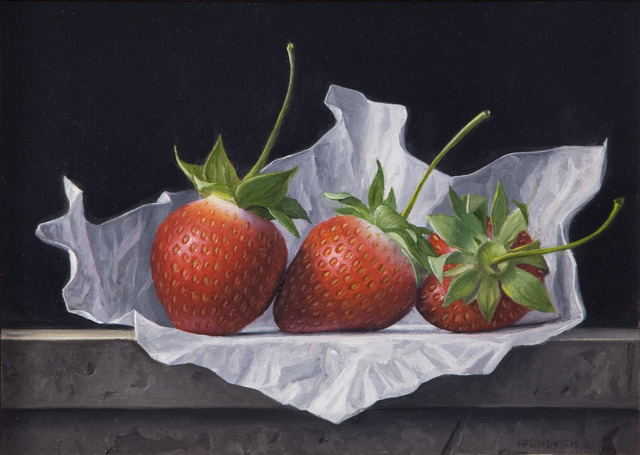 , 'Three Strawberries,' 2013, Clark Gallery