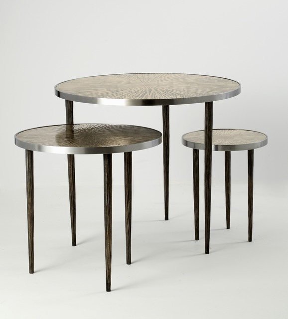 , 'Astres: Set of Three Tables,' 2014, Maison Gerard