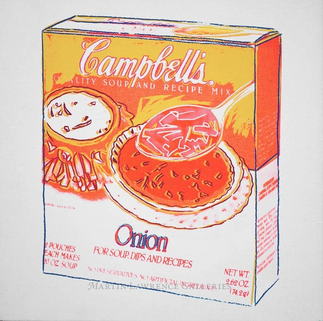 Andy Warhol, 'Onion, 1986 (Campbell's Soup Box)', 1986, Martin Lawrence Galleries