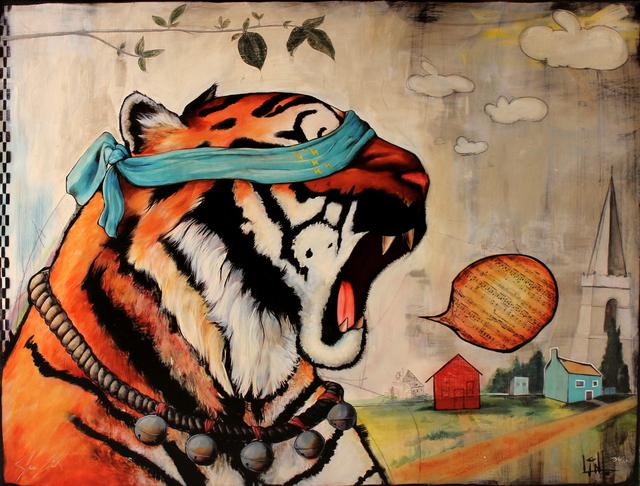 , 'Eye of the Tiger,' , Ruckus Gallery