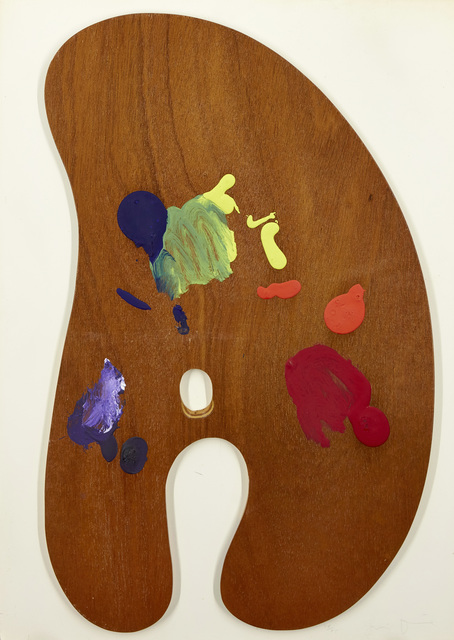 Jim Dine, 'Palette I', 1969, Painting, Painted wood multiple in colours, Roseberys