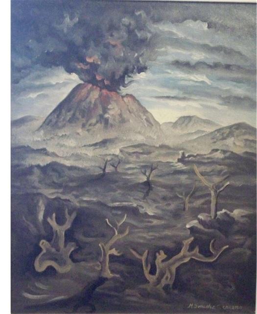 , 'Volcán,' s/f, Oscar Roman