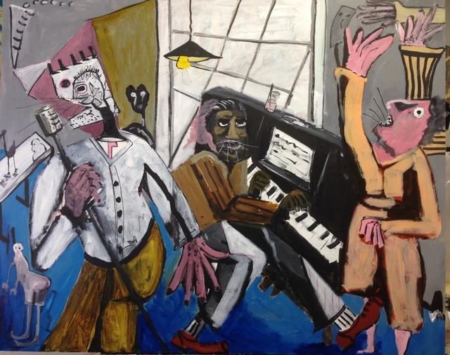 , 'Crooners,' 2014, Paraphé