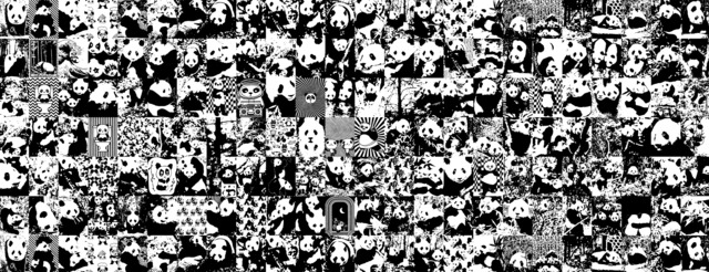 , 'All the Pandas,' 2014, Museum Dhondt-Dhaenens