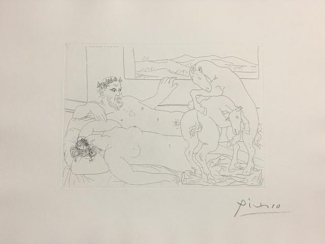 Pablo Picasso, 'Le Repos du Sculpteur III', 1933, Wallector