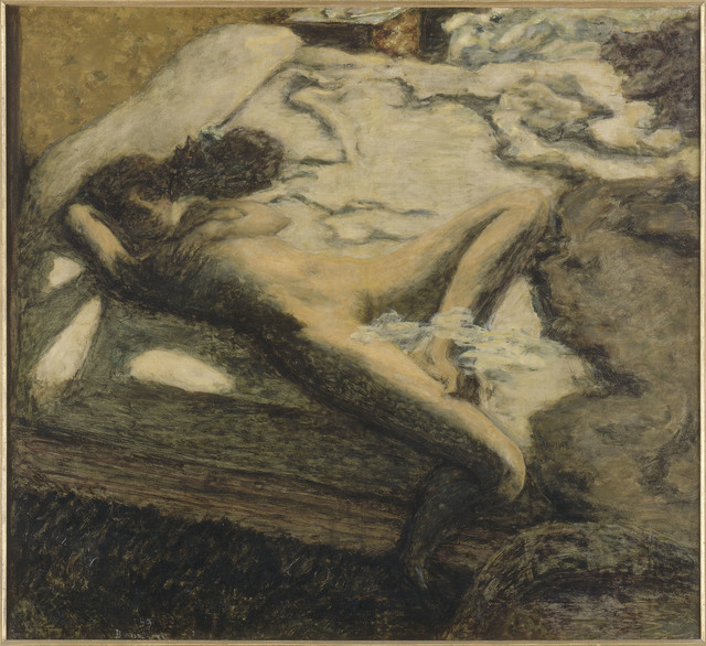 Pierre Bonnard, 'Femme assoupie sur un lit, dit aussi L'Indolente (Woman Dozing on a Bed or The Indolent Woman)', 1899, Musée d'Orsay
