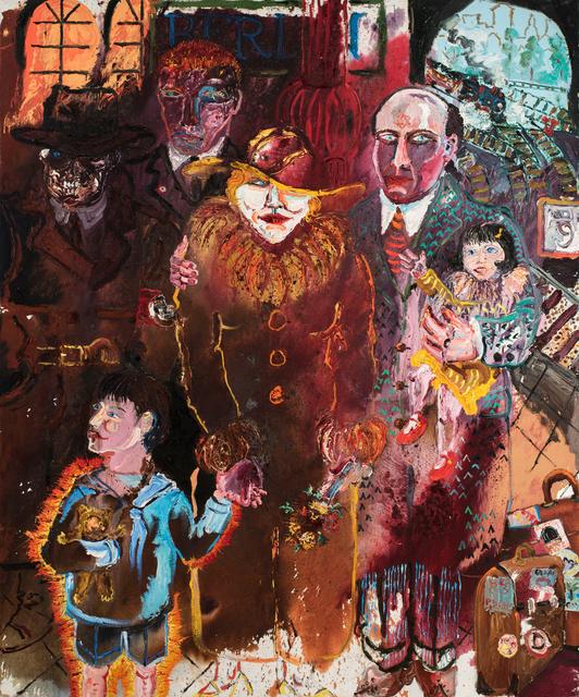 Peter Dean, 'Berlin: Recurring Dream', 1983, Allan Stone Projects
