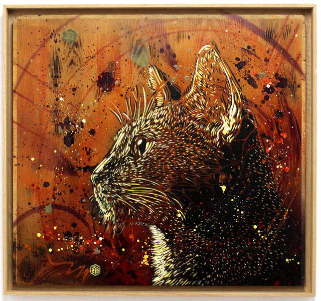 , 'Le Chat Roux,' 2016, Station 16 Gallery