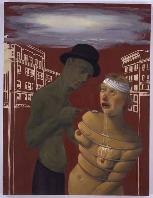, 'Commerce Feeds Creativity,' 2004, New Museum