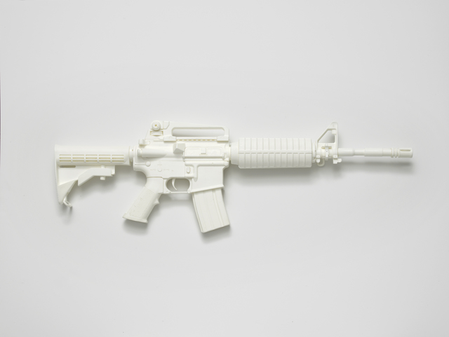 , 'M4A1 carbine (from the series Painkillers I),' 2014, l'étrangère