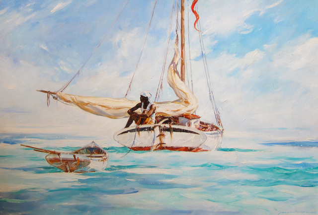 , 'Becalmed,' 2014, Quidley & Company