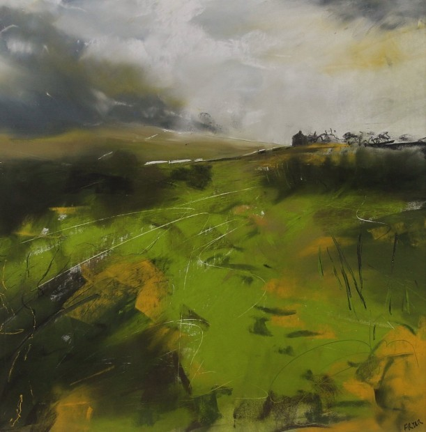, 'Sap green and gorse, Caldbeck Common,' 2017, Castlegate House Gallery