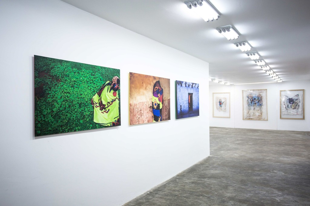 Works by Michael Tsegaye and Workneh Bezu in Addis Calling Group Show