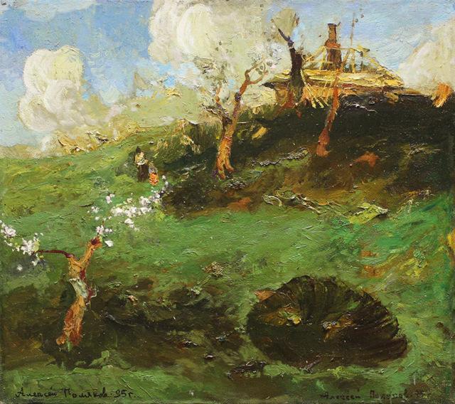 , 'Spring, 1945,' 1995, Paul Scott Gallery & galleryrussia.com