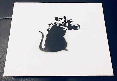 "Banksy, 'BANKSY DISMALAND ""PAPARAZZI RAT"" CANVAS COMPLETE WITH COA', 2015, Arts Limited"