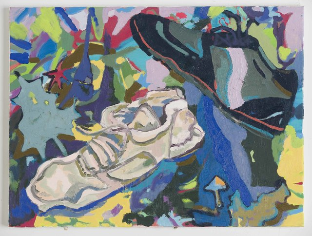Todd Arsenault and Kristopher Benedict, 'Sneakers Old and New', 2019, David Richard Gallery