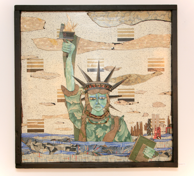 , 'Drowning Liberty,' 2014, Court Tree Gallery