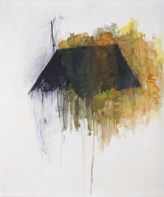 , 'Large Shelter,' 2018, Parafin