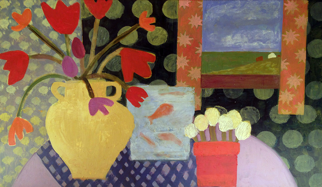 , 'Fish and Flowers,' 2012, Kathryn Markel Fine Arts