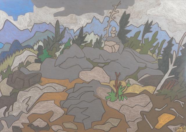 , 'Nun-da-gao Ridge,' , Keene Arts