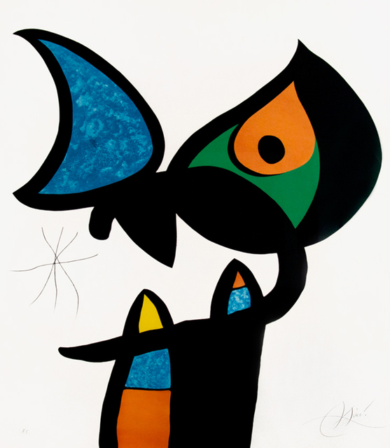 Joan Miró, 'Plate VI from Espriu – Miró', 1975, Masterworks Fine Art