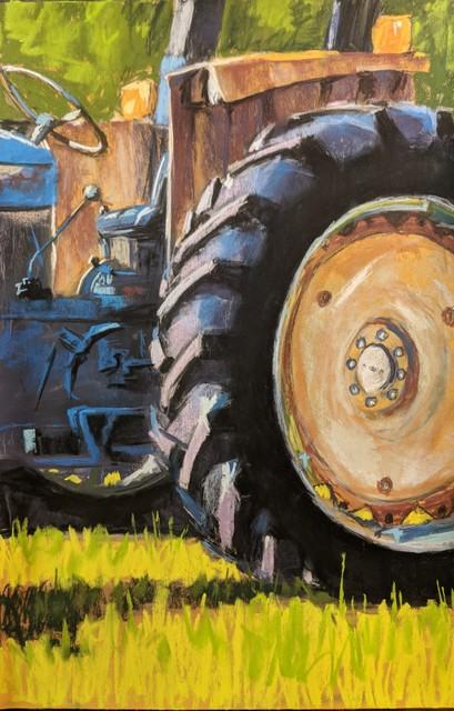 , 'Rear Wheel,' 2019, Copley Society of Art