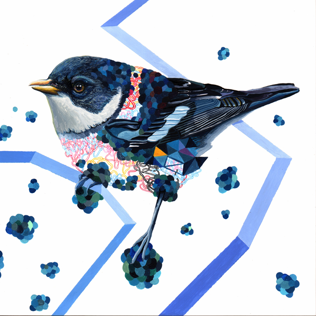 , 'Endangered Bird #158,' 2016, Jenn Singer Gallery