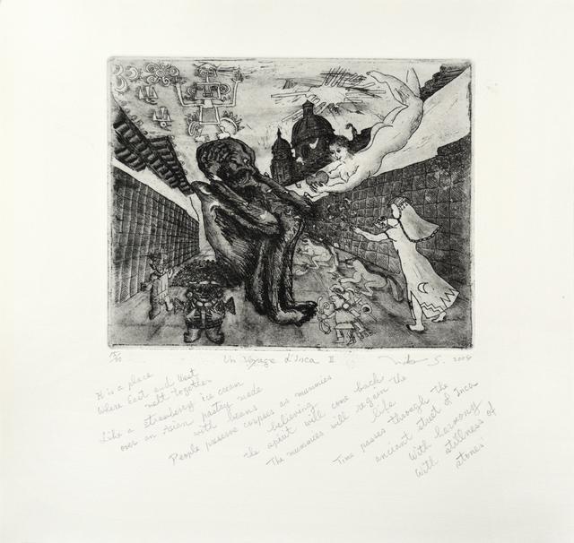 , 'Un Voyage d'Inca II,' 2004, Ronin Gallery