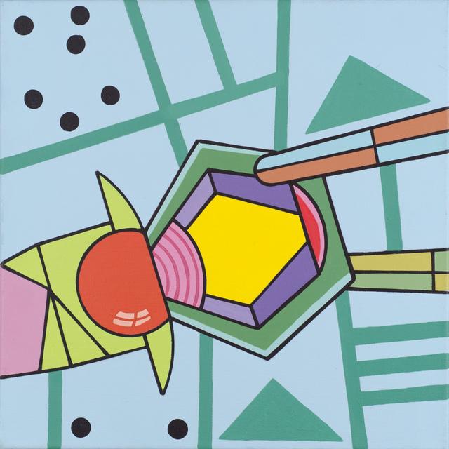 , 'Ladders,' 2016, Fleisher/Ollman