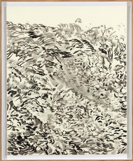 , 'Glacier Calving (Rise),' 2017, Barnard