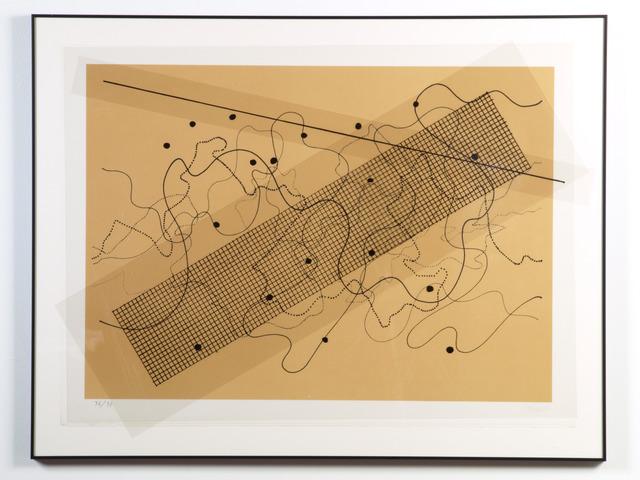 , 'Fontana Mix (Orange/Tan),' 1981, Carl Solway Gallery