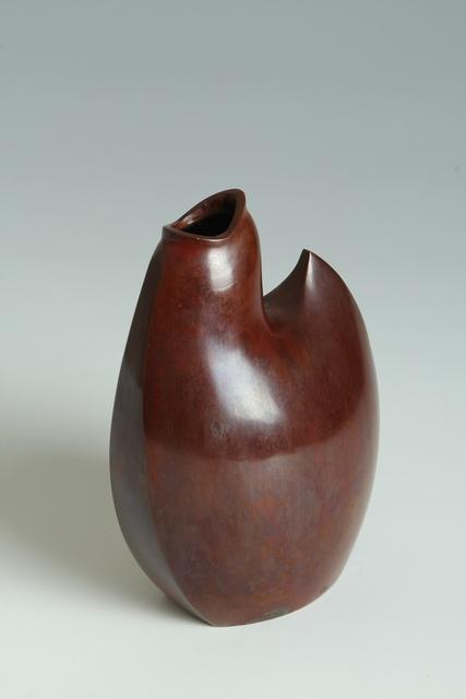 Yasumi Nakajima II, 'Bronze Plover Vase (T-3944)', Showa era (1926, 1989), 1970s, Erik Thomsen