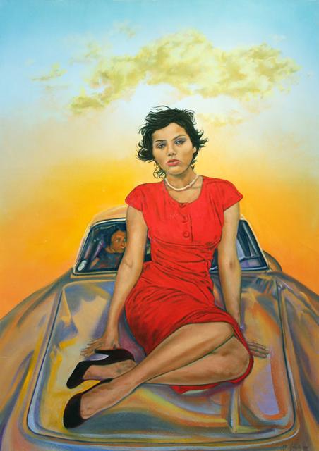 John Valadez, 'Sophia II', 2014, Robert Berman Gallery