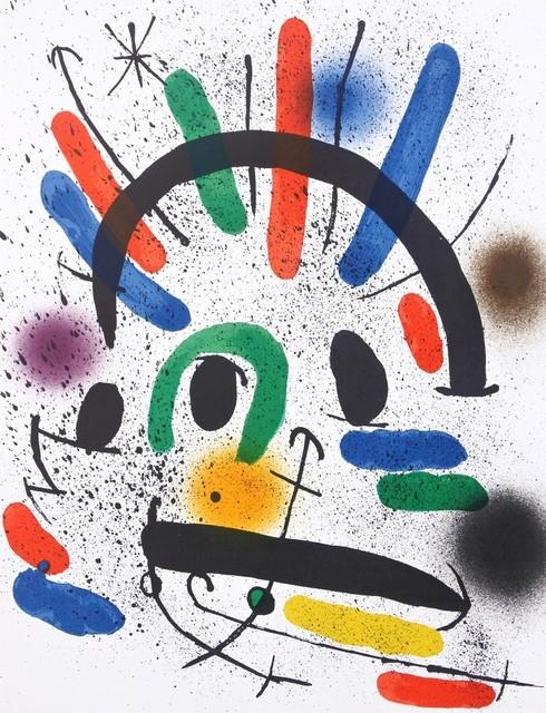 Joan Miró, 'Composition IV from Miró Lithographs 1', 1972, Hans den Hollander Prints