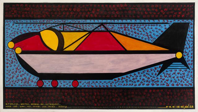 , 'Ultraleves Ingres,' 1998, Galeria Estação