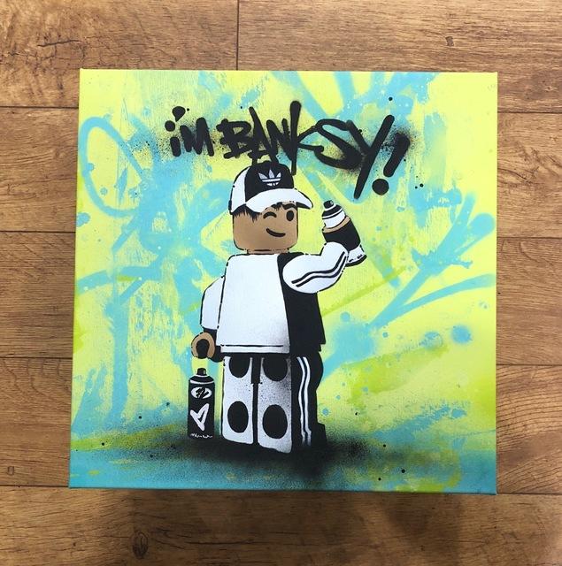 """, '""""I'm Banksy"""" Lime,' 2018, Landmark Street Art"""