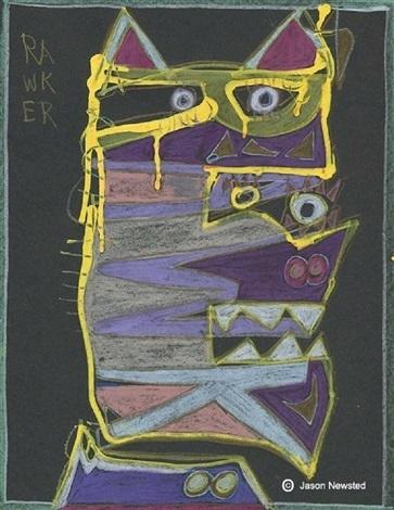 , 'Rawker,' 2017, 55Bellechasse