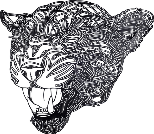, 'Grey Jaguar,' 2014, Victor Lope Arte Contemporaneo